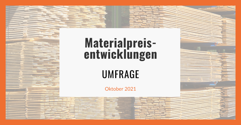 Materialpreisentwicklung